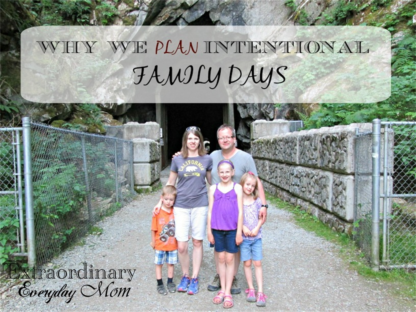 Why We Plan Intentional Family Days