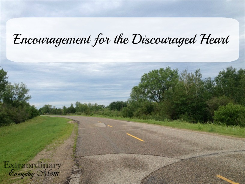 Encouragement for the Discouraged Heart