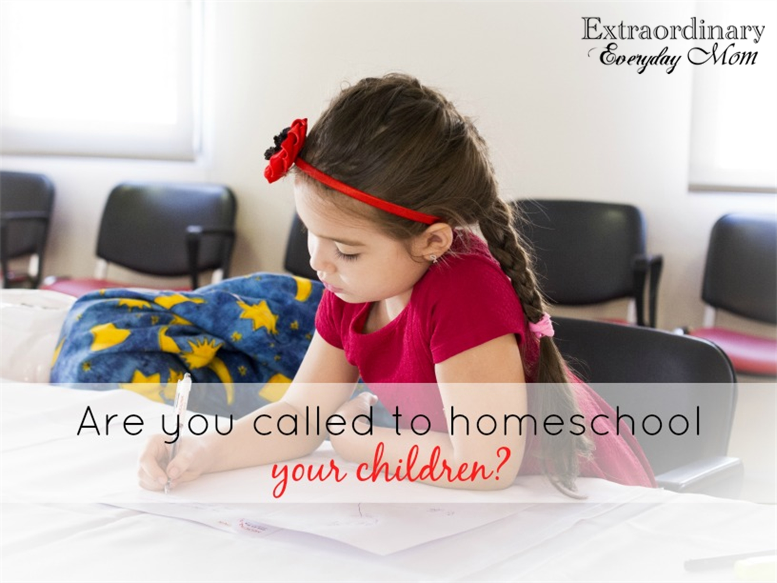 Are you called to homeschool your children?