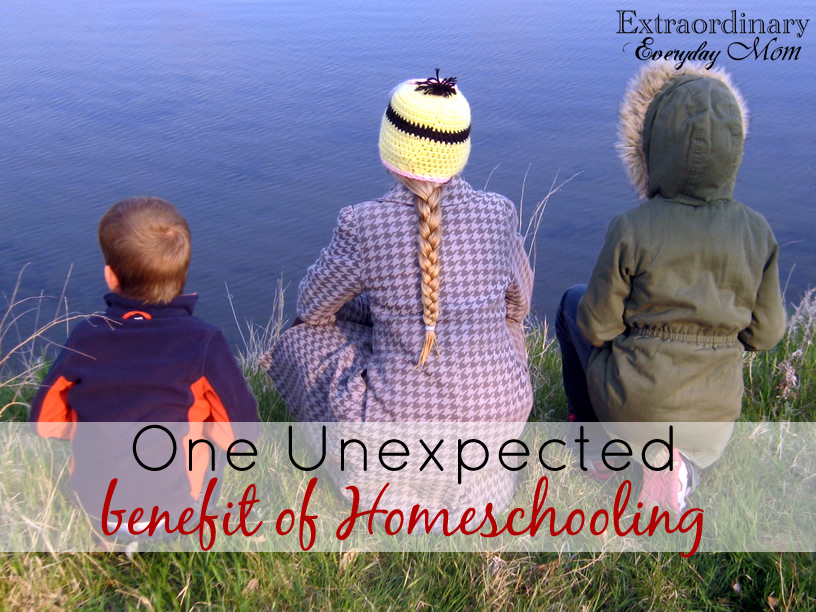 Homeschooling-one unexpected benefit