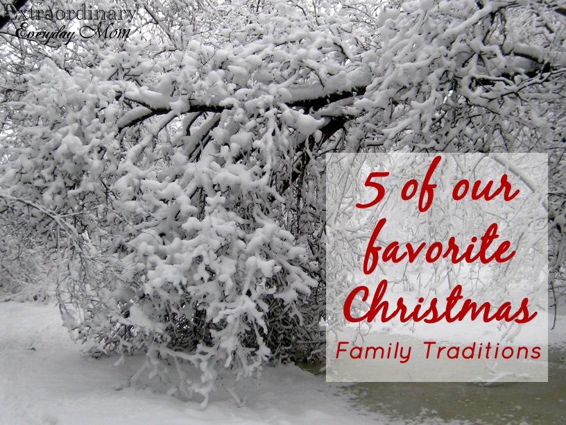 5 of our Favorite Christmas Family Traditions